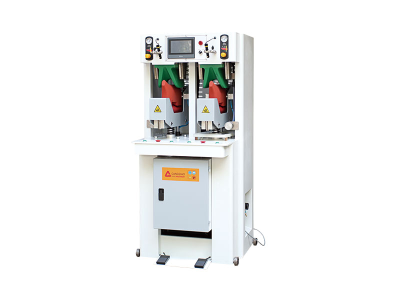 CQ-2018 double-station vamp tilt forming machine