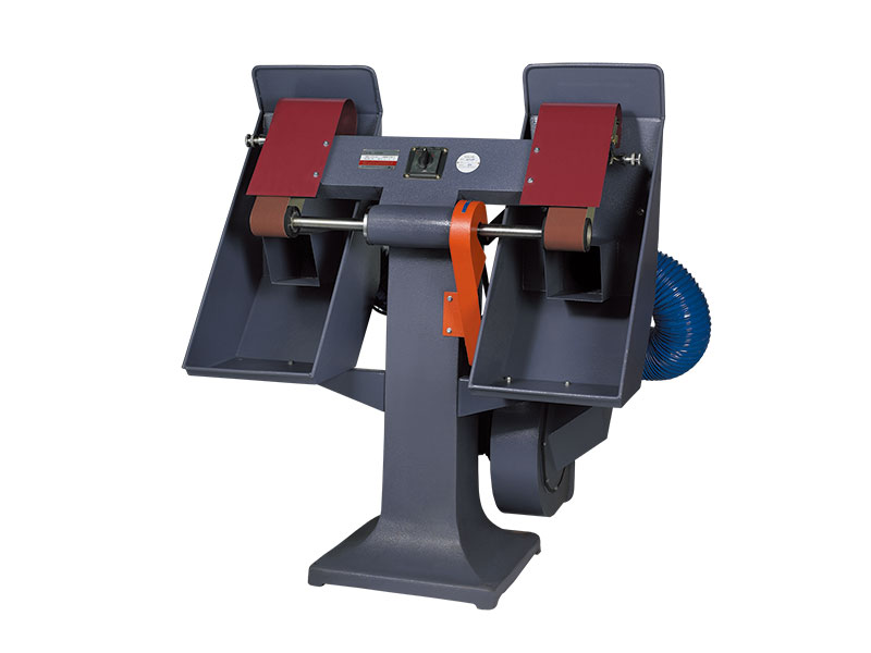 CQ-23-2-B speed control double-head vertical sand belt grinder