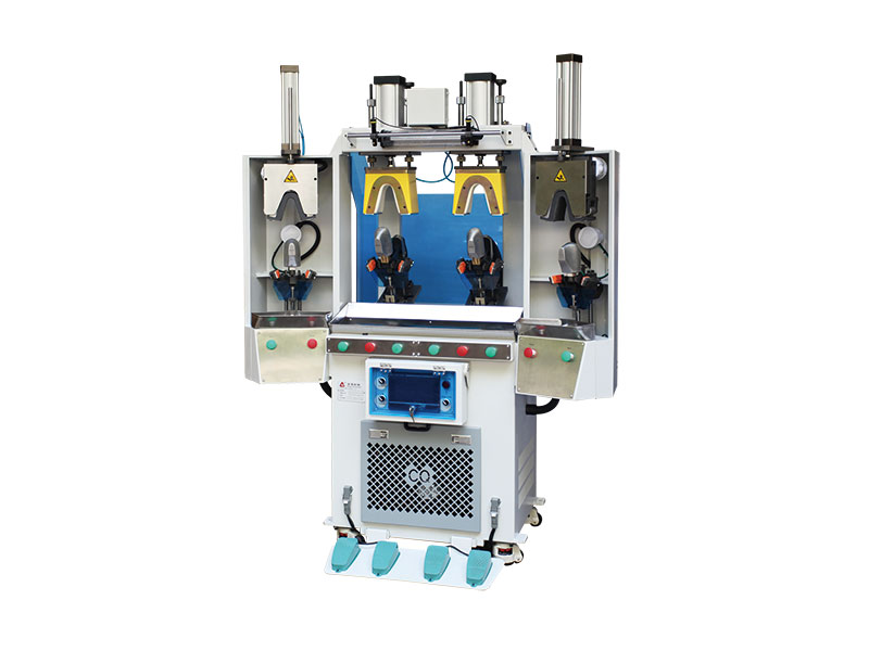 CQ-381P Double Cold and Heating Back Part Forming Machine (Air Bag Type)